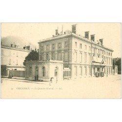 carte postale ancienne 38 GRENOBLE. Le Quartier Général vers 1900