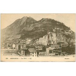 carte postale ancienne 38 GRENOBLE. Les Forts 1919