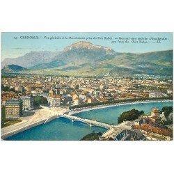 carte postale ancienne 38 GRENOBLE. Moucherotte du Fort Rabot 1925