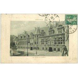 carte postale ancienne 38 GRENOBLE. Palais de Justice 1913