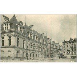 carte postale ancienne 38 GRENOBLE. Palais de Justice et Bayard