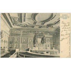 carte postale ancienne 38 GRENOBLE. Palais de Justice. Salle Comptes 1902