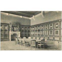 carte postale ancienne 38 GRENOBLE. Palais de Justice. Salle Historique