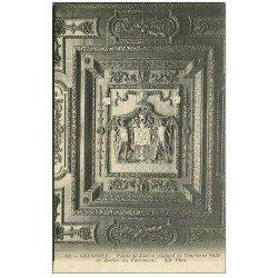 carte postale ancienne 38 GRENOBLE. Palais Justice. Plafond Salle du Parlement