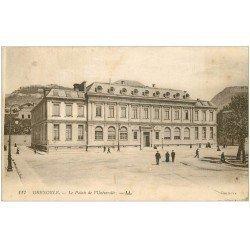 carte postale ancienne 38 GRENOBLE. Palais Université. Tampon Militaire