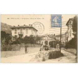carte postale ancienne 06 NICE. Saint-Sylvestre. Entrée du Vallon 1930