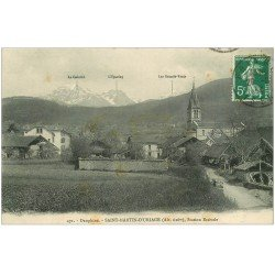 carte postale ancienne 38 SAINT-MARTIN D'URIAGE. 1914
