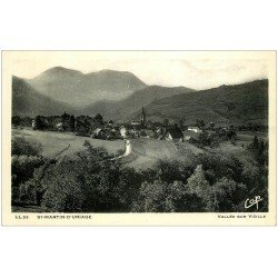 carte postale ancienne 38 SAINT-MARTIN-D'URIAGE. Vallée Vizille 1938