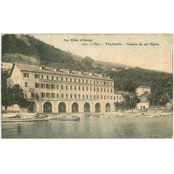 carte postale ancienne 06 NICE. VILLEFRANCHE. Caserne du 24° Alpins 1907