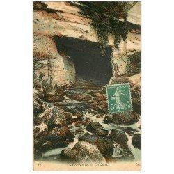 carte postale ancienne 38 SASSENAGE. Cuves