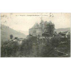 carte postale ancienne 38 URIAGE-LES-BAINS. Château 1909