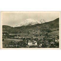 carte postale ancienne 38 URIAGE-LES-BAINS. Château et Colon. Carte Photo 1952