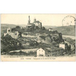 carte postale ancienne 38 VIENNE. Colline Pipet 1912