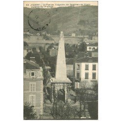 carte postale ancienne 38 VIENNE. Plan Aiguille dit Tombeau de Pilate 1912
