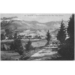 carte postale ancienne 38 VILLARD-DE-LANS. Col Vert attelage