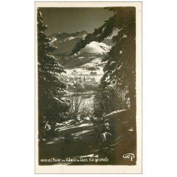 carte postale ancienne 38 VILLARD-DE-LANS. Vue 1938 Carte Photo