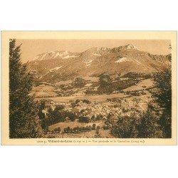 carte postale ancienne 38 VILLARD-DE-LANS. Vue et Cornafion