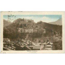 carte postale ancienne 38 VOIRON. Hôpital 1933