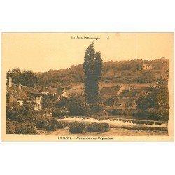 carte postale ancienne 39 ARBOIS. Cascade des Capucins