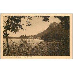 carte postale ancienne 39 BONLIEU. Le Lac