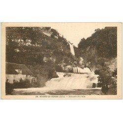 carte postale ancienne 39 BOURG-DE-SIROD. Cascade de l'Ain