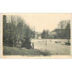 carte postale ancienne 39 CHAMPAGNOLE. Bord de l'Ain 1905