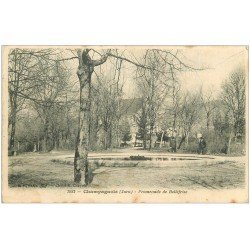 carte postale ancienne 39 CHAMPAGNOLE. Promenade de Bellefrise
