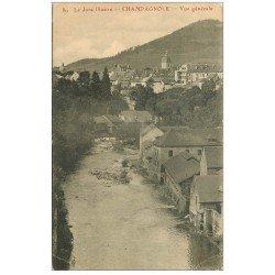 carte postale ancienne 39 CHAMPAGNOLE. Vue générale 89