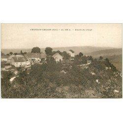 carte postale ancienne 39 CHATEAU-CHALON. Entrée du Village