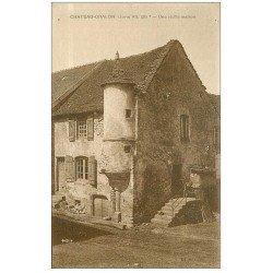 carte postale ancienne 39 CHATEAU-CHALON. Vieille Maison