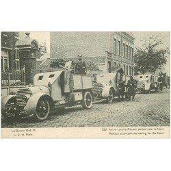 carte postale ancienne 39 CLAIRVAUX. Autos Canons Renault 1915