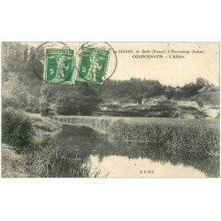 carte postale ancienne 39 COURCHAVON. L'Allaine 1911