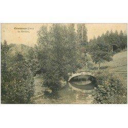 carte postale ancienne 39 COUSANCE. La Rivière