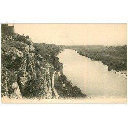 carte postale ancienne 39 DOLE. Chapelle Saut de la Pucelle