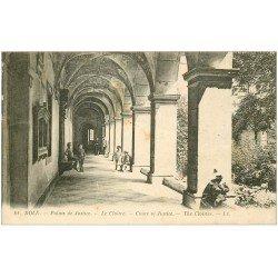 carte postale ancienne 39 DOLE. Cloître Palais de Justice