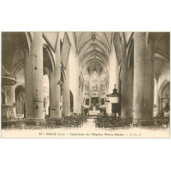 carte postale ancienne 39 DOLE. Eglise Notre-Dame