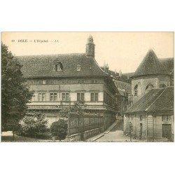 carte postale ancienne 39 DOLE. Hôpital