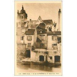 carte postale ancienne 39 DOLE. Maison Natale de Pasteur