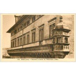 carte postale ancienne 39 DOLE. Poivrière et Balcon Hôtel-Dieu