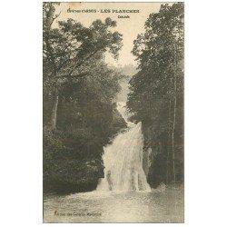 carte postale ancienne 39 LES PLANCHES. Cascade