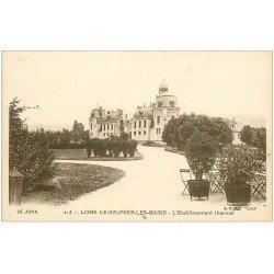 carte postale ancienne 39 LONS-LE-SAUNIER. Etablissement Thermal