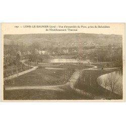 carte postale ancienne 39 LONS-LE-SAUNIER. Le Parc