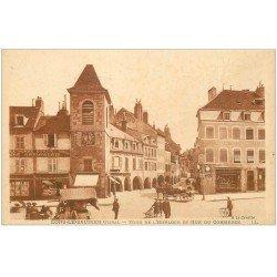 carte postale ancienne 39 LONS-LE-SAUNIER. Rue du Commerce