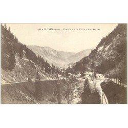 carte postale ancienne 39 MOREZ. Entrée Ville