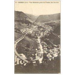 carte postale ancienne 39 MOREZ. Viaduc des Grottes