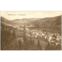 carte postale ancienne 39 MOREZ. Vue générale sépia