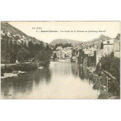 carte postale ancienne 39 SAINT-CLAUDE. Bienne Faubourg Marcel