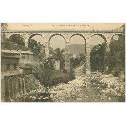 carte postale ancienne 39 SAINT-CLAUDE. Le Viaduc