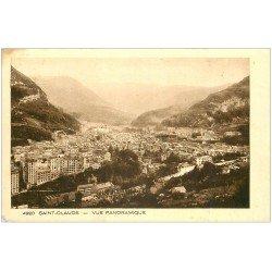 carte postale ancienne 39 SAINT-CLAUDE. Vue panoramique