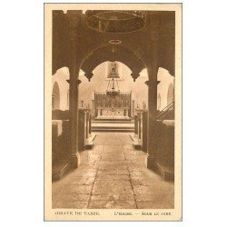 carte postale ancienne 73 ABBAYE DE TAMIE. Jubé de l'Eglise